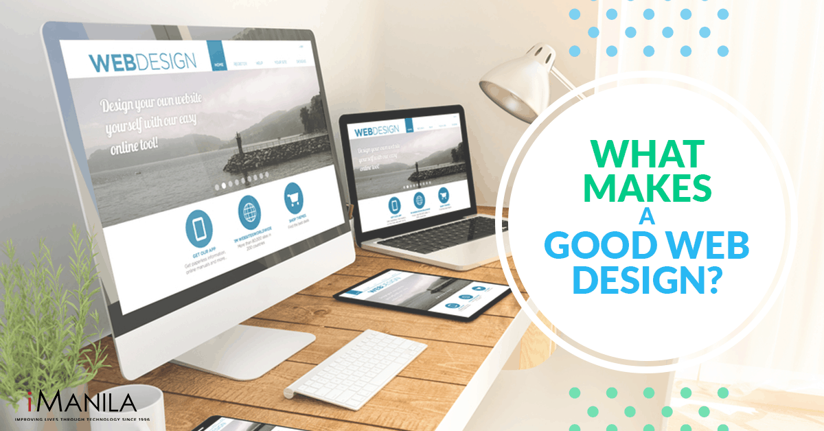 what makes a good web design
