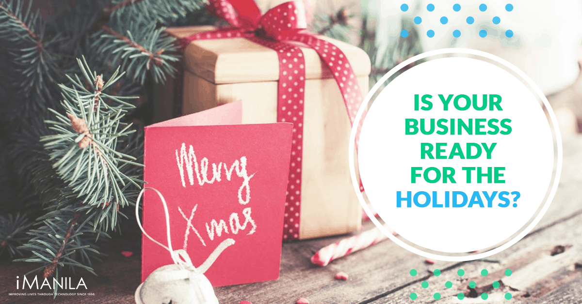 is your business ready for the holidays