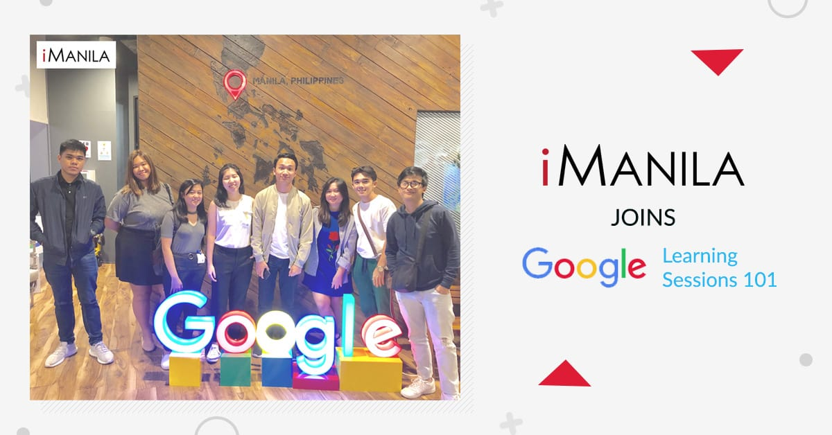iManila joins the Google Learning Session 101 by Google PH