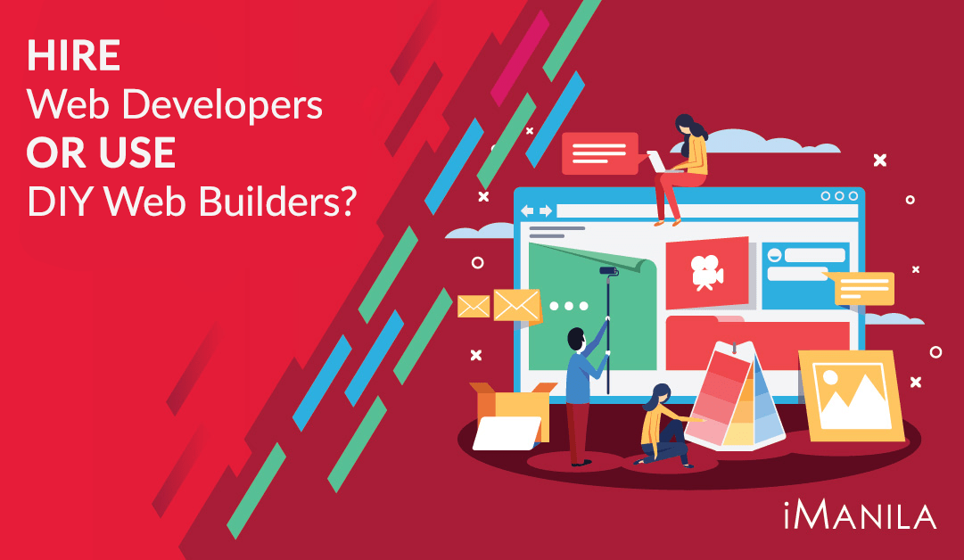 Hire Web Developers or Use DIY Web Builders