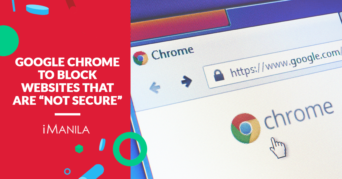 google chrome block not secured websites