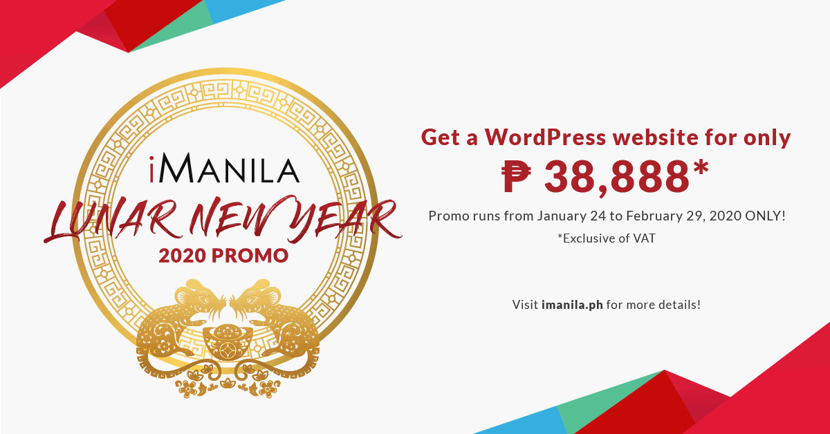 chinese new year promo 2020 imanila