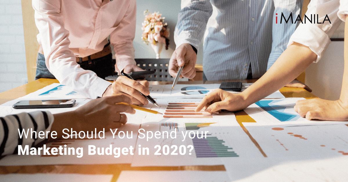 Marketing Budget in 2020