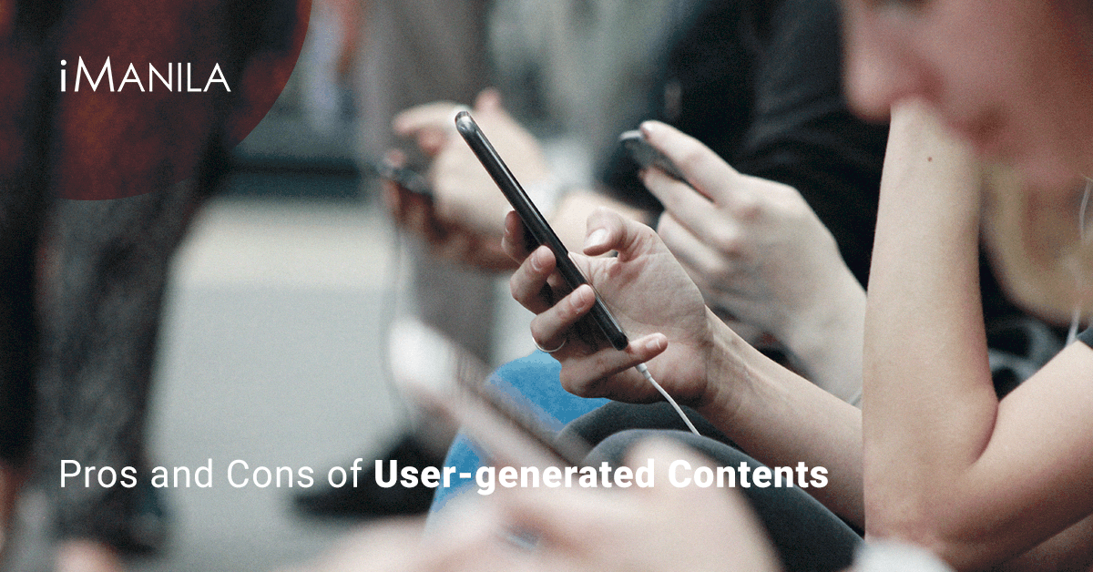 pros and cons of user generated contents